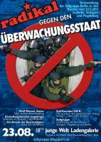 radikal gegen den �¼berwachungsstaat